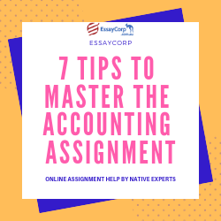7 Tips to Master the Accounting Assignment