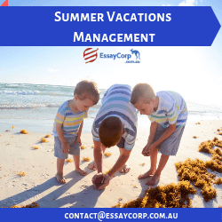 SUMMER VACATION MANAGEMENT